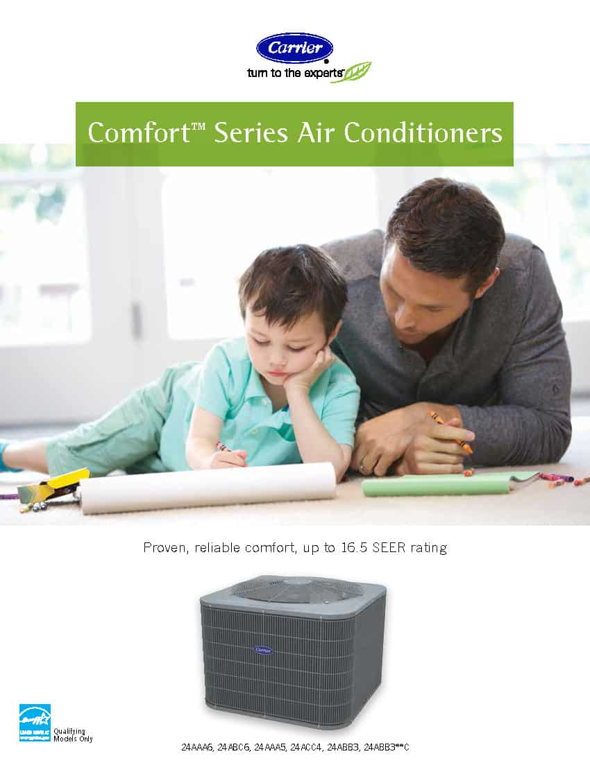 Good - New Comfort Series Central Air Conditioners_Page_1