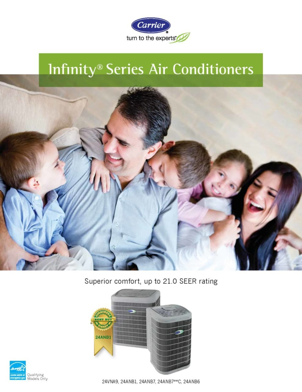 Best - New Infinity Series Central Air Conditioners_Page_1