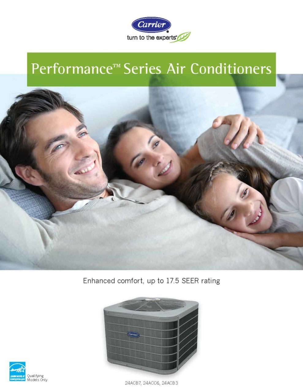 Carrier - Performance Series Central AC